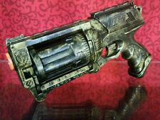 GOLD Custom Painted Nerf Dart Gun Maverick Rev 6 N-Strike Cosplay Comic Con fun
