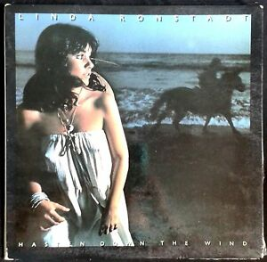 LINDA-RONSTADT-Hasten-Down-The-Wind-Spain-LP-Asylum-1976-Gatefold