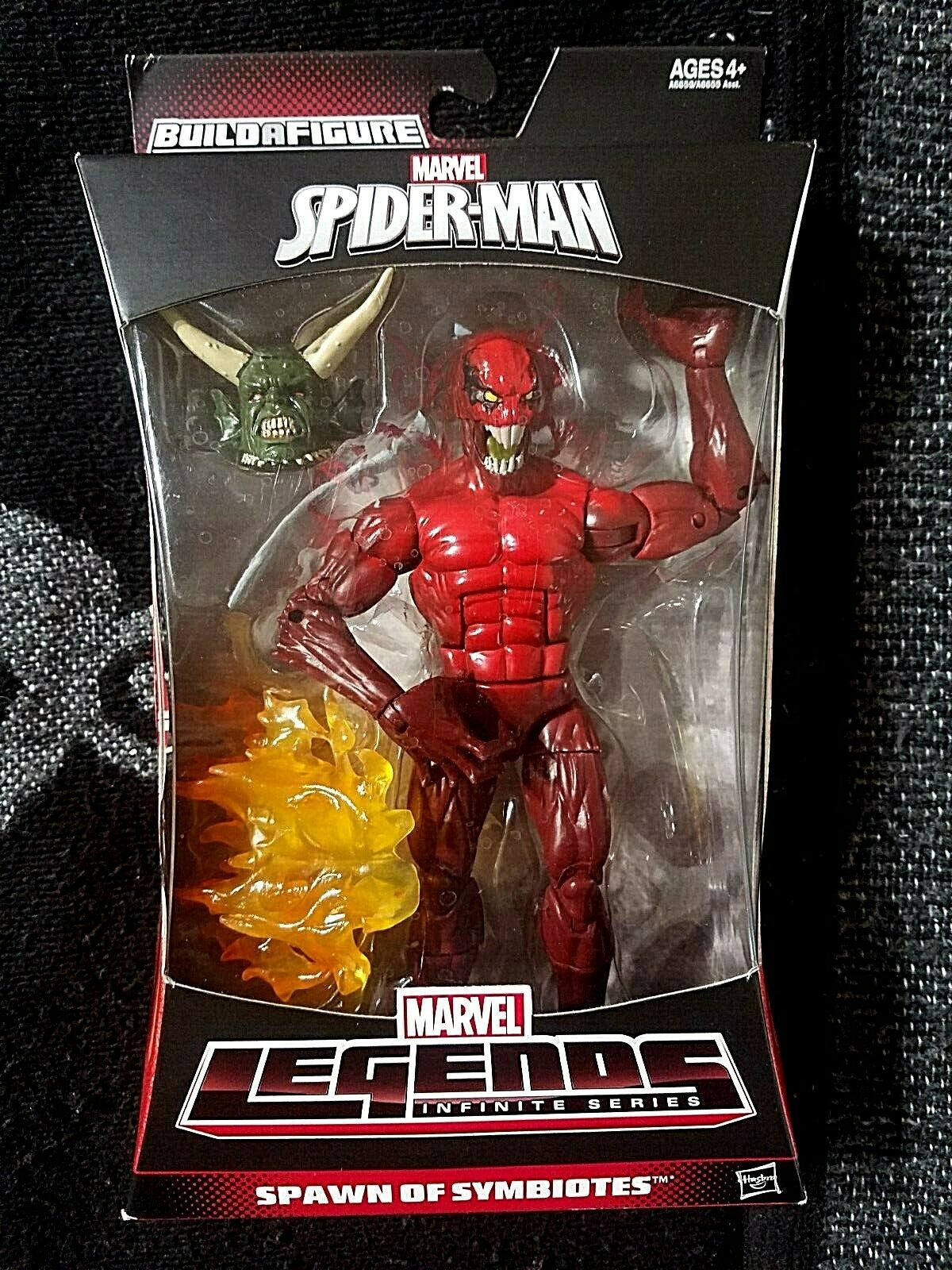 Marvel Legends Infinite Series Series Series Spider-uomo Spawn of Symbiotes TOXIN bbf0e4