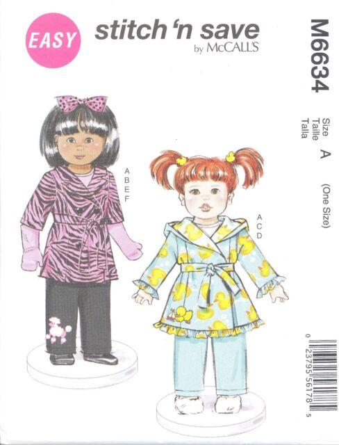 Sew & Make Mccall\'s M6634 Sewing Pattern - 18\