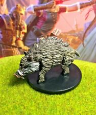 Giant Rat D/&D Miniature Dungeons Dragons pathfinder menagerie medium 1 druid Z
