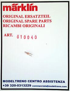 Märklin 61004 610040 LAMPADINA steckbirne Marrone 19v//70ma T 1 BI-PIN NUOVO