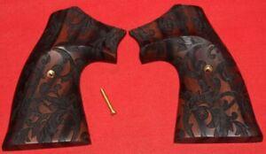 Colt-Firearms-Python-Officers-Model-Scroll-Pattern-Grips