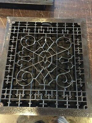 Ca 41 Extra Large Antique Floor Or Wall Mount Heating Grate Fantastic