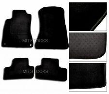 FIT FOR 2006-2012 LEXUS IS250 IS350 BLACK NYLON CARPET FLOOR MAT NEW 4 PCS