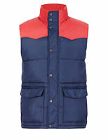 M&S NORTH COAST Colour Block Quilted Gilet (BODY WARMER) PRP £59