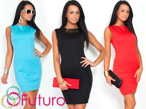 NEW-Women-039-s-Classic-amp-Elegant-Shift-Dress-Pencil-Tunic-Style-Size-8-18-FA15