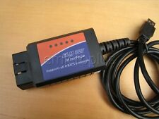 Mini ELM327 OBD2 OBDII Car Diagnostic Interface Scanner Tool Code Read USB Cable