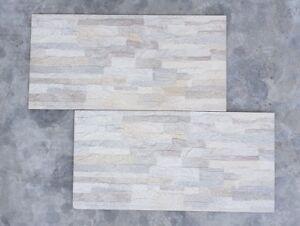 Piastrelle rivestimento gres effetto muretto pietra selce