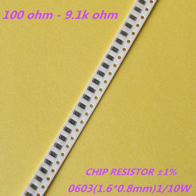 100x 15 Ohm SMD Resistor Design 0805