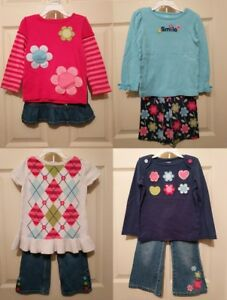 Baby & Toddler Clothing The Cheapest Price Gymboree Smart And Sweet Pants Size 18-24 Mos