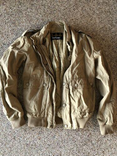 Vintage Barbour Waterproof Bomber Jacket Desert/Kh