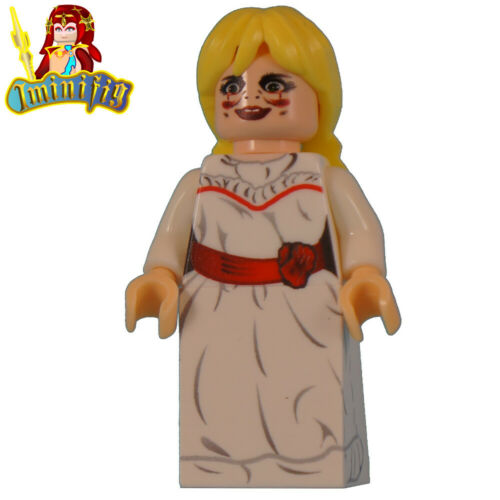 Custom LEGO Horror Doll Annabelle UV Print minifigure