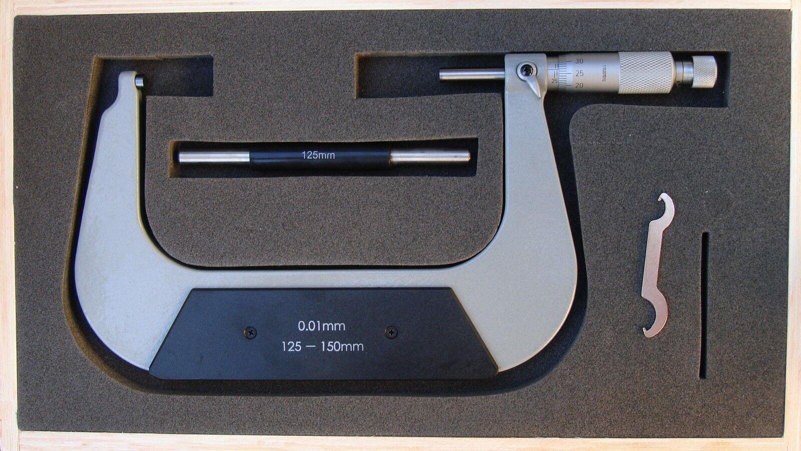 Bügelmeßschraube Bügelmeßschraube Bügelmeßschraube Mikrometer Außenmikrometer 100-125, 125-150, 150-175, 175-200mm | Fairer Preis  | Lebensecht  | Qualität und Quantität garantiert  | Attraktives Aussehen  d0b83f