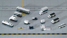 Gemini Jets GJARPTSETA 14 Piece Ground Accessories Set 1:400 Scale Diorama Set
