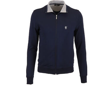 Giacca-sportiva-da-uomo-Clima-Comfort-di-Hajo-colore-blu-marino-taglie-48-62