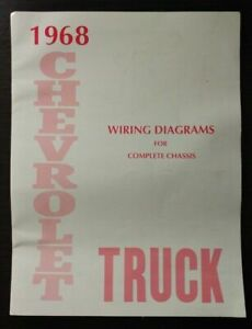 1968 Chevrolet Truck Wiring Diagram Manual for Complete ...