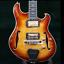 2019-P-amp-P-Languedoc-Electric-Guitar-Semi-Hollow-Body-Quilt-Maple-Ebony-Fingerboad thumbnail 1