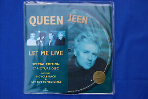 QUEEN-Let-Me-Live-7-inch-vinyl-picture-disc-with-insert-NEW