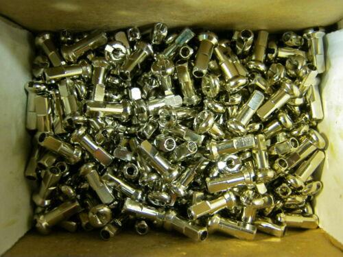 DT SWISS & WS BRASS NIPPLES 14 & 15 g. Silver & Black 12&16mm *Any Quantity* NEW