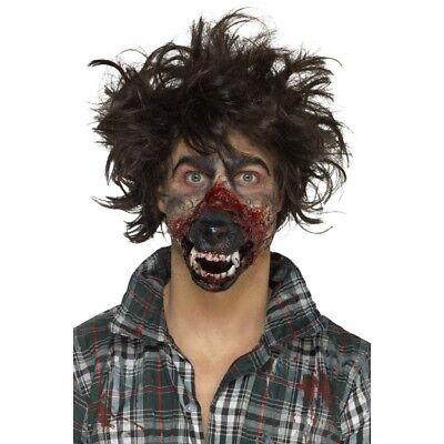 Schiuma Latex Lupo Mannaro Bocca Protesi Halloween Special Fx Adulti Make Up