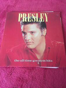 Elvis Presley The All Time Greatest Hits Vinyl Gatefold 2x LP 1987Pro Clean Ex