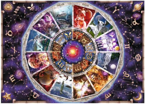 RAVENSBURGER 17805 ASTROLOGY THE ZODIAC 9000 PIECES JIGSAW PUZZLE Zodiaque