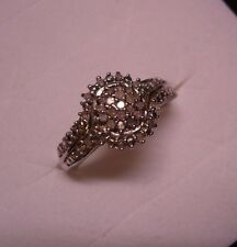 Diamond Right Hand Ring Sz. 7  32 diamonds .28tcw MSRP $614