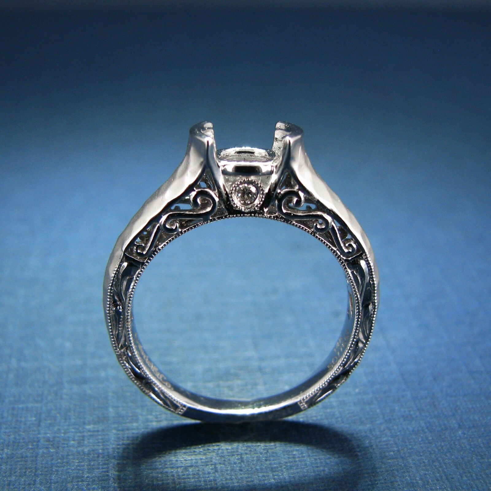 Gabriel & Co Engagement Ring - Kiera - 14K Diamond Engagement Ring ER9058W44JJ