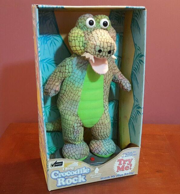 NEW Gemmy Crocodile Rock 1998 Animated Plush