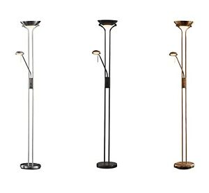 Argos Home Father And Child Uplighter 180cm Floor Lamp Chrome