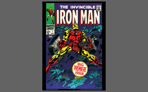 Marvel Comics Cover Poster Reprint May 1968 THE INVINCIBLE IRON MAN #1 POSTER