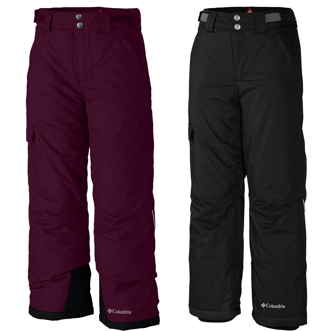 "New Girls Columbia /""Bugaboo/"" Omni-Heat Insulated Outgrown Winter Skipants Pants"