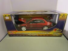 RACING CHAMPIONS 1/18 XTREME CANDY RED 2001 MITSUBISHI LANCER EVO VII  2500 MADE