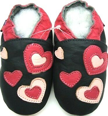 Minishoezoo sandals pink 0-6 m soft sole baby girl leather first shoes