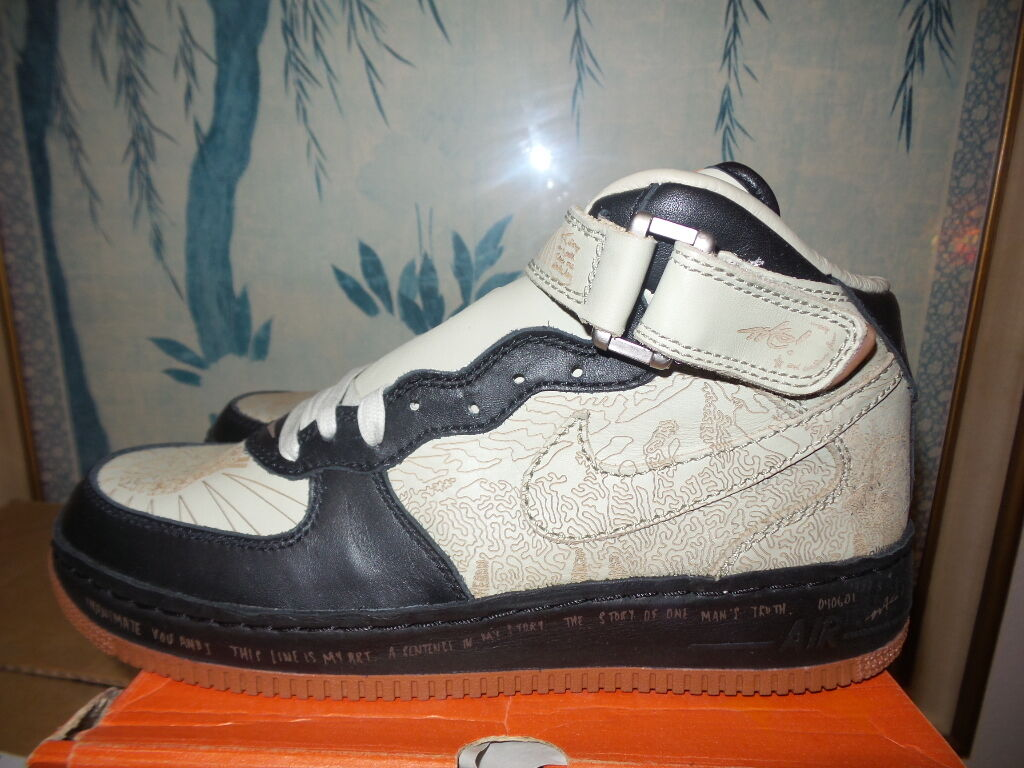 Nike Air Force 1 One I Virtual Mo Motion INSIDE OUT AF1 Mid 10.5 DS vintage 2004 Seasonal price cuts, discount benefits