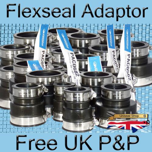 Flexseal EPDM Caoutchouc Souple Tuyau Adaptateur Couplage Connecteur