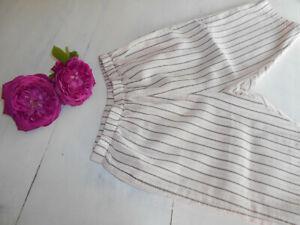 bonpoint pantalon fluide 18 mois fille rose et taupe pour l'été TBE