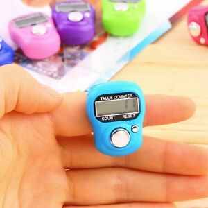 Digital-Reihenzaehler-am-Finger-Strickreihenzaehler-Elektronisch-LCD-Zaehler