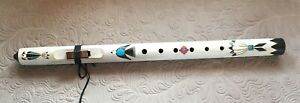 Native American-style Flute - Butch Hall, Low D; Special Paint/Walnut