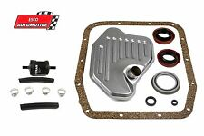 Ford 4R70W Transmission Deluxe Filter Kit 1996 & UP w/Seals & In-line Filter