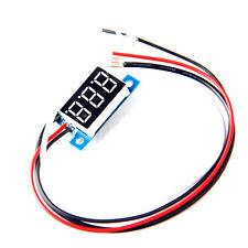 """0.36"""" Red LED Digital DC Ammeter AMP Mini Current Panel Meter DC 0-50A K6"""