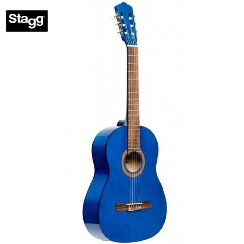 NEW Stagg SCL50 1//2 Size Student Nylon Classical Acoustic Guitar 4 COLORS