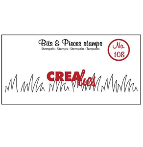108 Grasrand mittel 5x13x16mm 051108 Crealies Clearstamp Bits/&Pieces no