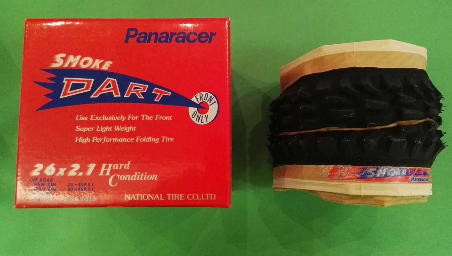 Tire Panaracer Smoke Dart competition 26x2.1 Tire Vintage Rare