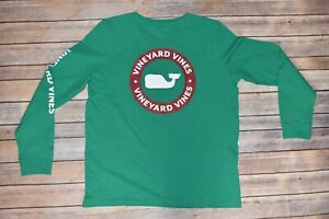 NWT-Vineyard-Vines-Shirt-Women-Long-Sleeve-Medium-Whale-Dot-Holly