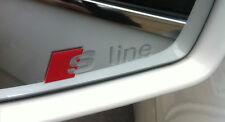 AUDI S Line Logo Premium Wing Mirror Decals Stickers