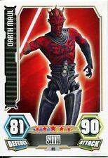 Star Wars Force Attax Series 3 Card #85 Darth Maul
