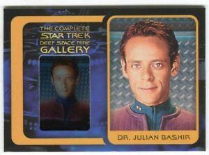 Star-Trek-Complete-Deep-Space-Nine-DS9-Gallery-Chase-Card-G6-Dr-Julian-Bashir