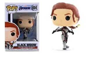 Funko-Pop-Marvel-Avengers-Endgame-Black-Widow-Vinyl-Bobble-Head-Item-36665